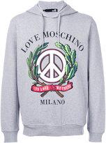 Love Moschino In Love We Trust hoodie