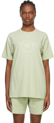 Sporty and Rich Green SRHWC T-Shirt