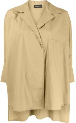 Roberto Collina Oversized 3/4 Sleeves Shirt