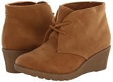 Rachel Trinity (Toddler/Youth) (Natural Suede) - Footwear