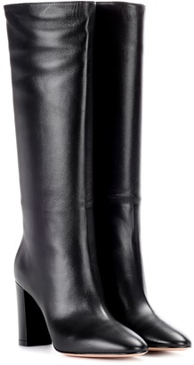 Gianvito Rossi Laura 85 leather knee-high boots