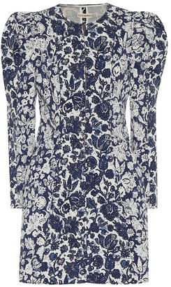 Ulla Johnson Wren floral denim dress