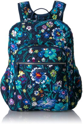 Vera Bradley Iconic XL Campus Backpack Signature Cotton