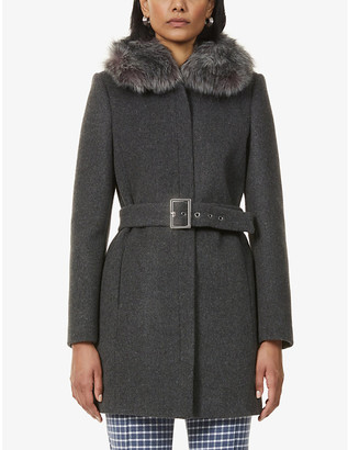 Claudie Pierlot Gillesbis wool and cashmere-blend coat