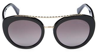 Roberto Cavalli 54MM Cat Eye Sunglasses