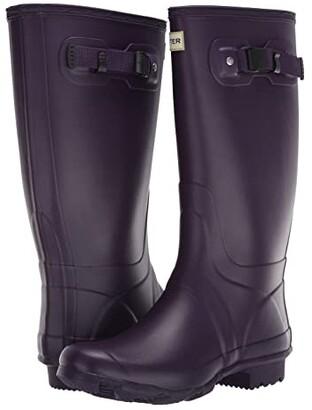 Hunter Huntress Field Boot (Dark Iris) Women's Boots