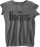 Beatles Bll Apple Green Sparkle Gel Lady Black T-Shirt