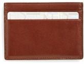 Boconi Men's Crocodile Card Case - Brown