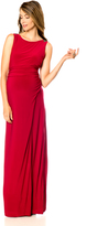 A Pea in the Pod LAUNDRY by Shelli Segal Drape Maternity Gown