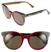 Fendi Women's 51Mm Sunglasses - Green Grey