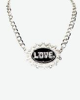 Le Château Love Pendant Statement Necklace