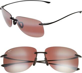 Maui Jim Hikina 62mm PolarizedPlus2 Rimless Sunglasses