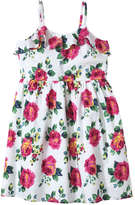 Joe Fresh Kid Girls' Ruffle Sundress, White (Size 10)