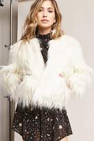 Forever 21 SHACI Boxy Faux Fur Jacket