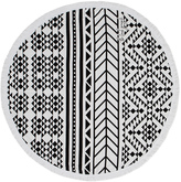 The Beach People Aztec Round Towel