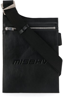 Misbhv embossed logo envelope shoulder bag