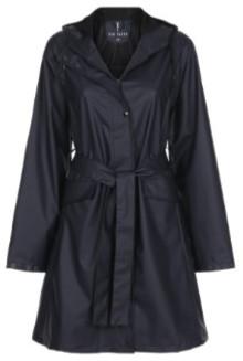 Tif Tiffy - Navy Trenchcoat Raincoat - Polyurethane   L/XL   navy - Navy