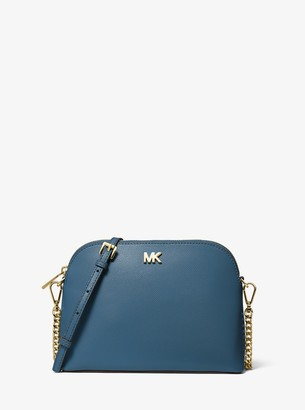 MICHAEL Michael Kors Large Crossgrain Leather Dome Crossbody Bag
