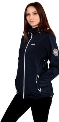 NIRVANA - Sporty jacket with zip closure Altea - 38/40   dark grey   polyester   CORAL ZIPPER - Black/Grey/Black