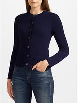 Collection WEEKEND by John Lewis Cashmere Lofty Crew Cardigan