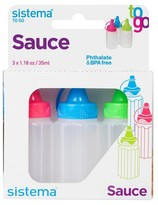 Sistema Sauce To Go 3 Pack 1.1oz