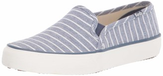 Keds Women's Double Decker Breton Stripe Fashion Sneakers