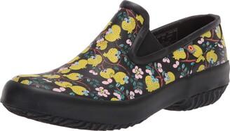 Bogs Women's Patch Slip on (Roots Studio) Rain Shoe