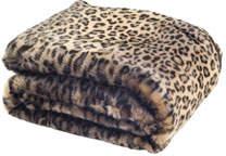 Safavieh Faux Leopard-Print Throw Blanket