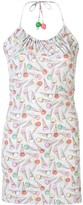 Chanel Pre Owned halter neck sleeveless one piece dress