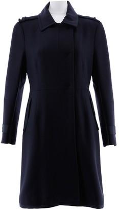CNC Costume National Black Wool Coat for Women