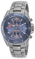 Michael Kors MK8484 Men's JetMaster Chronograph Stainless Steel Blue Dial