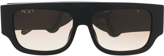 No.21 X 21 Thick Frame Sunglasses