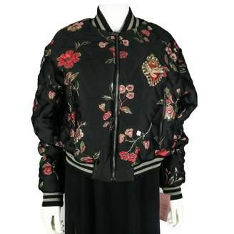 Dolce & Gabbana Black Polyester Leather jackets