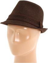 Michael Stars Tailor Trimmed Fedora (Java) - Hats