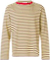 Marni boat neck striped T-shirt