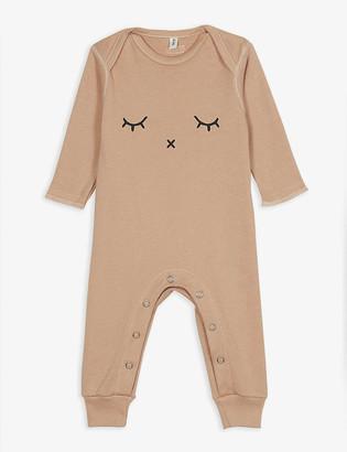 Organic Zoo Sleepy organic cotton sleepsuit 0-12 months
