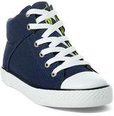 Ralph Lauren Big Kid Colton Canvas High-Top Sneaker
