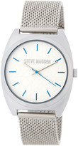 Steve Madden Women&s Alloy Mesh Bracelet Watch