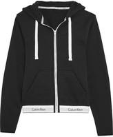Calvin Klein Underwear Modern Cotton-jersey Hooded Sweatshirt - Black