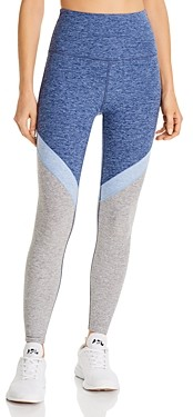 Beyond Yoga Color-Block Space-Dye Leggings