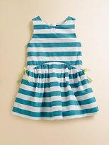 Lili Gaufrette Toddler's & Little Girl's Striped Popeline Dress