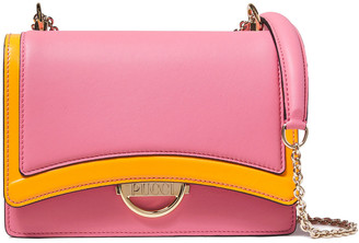 Emilio Pucci Olivia Two-tone Leather Shoulder Bag