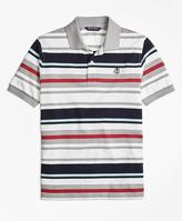 Brooks Brothers Cotton Multi Stripe Polo