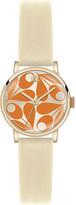 Orla Kiely Patricia leather watch