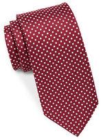 Black Brown 1826 Classic Silk Tie