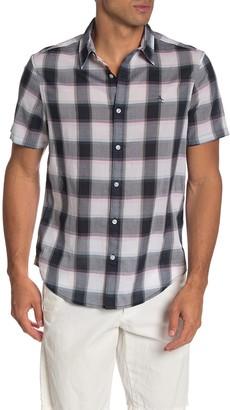 Original Penguin Plaid Printed Regular Fit Shirt