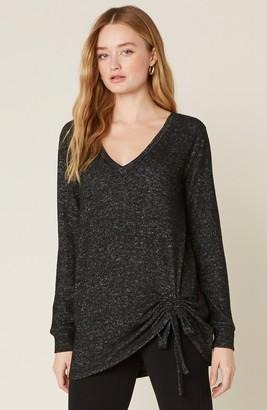 BB Dakota La Vie En Cozy V-Neck Sweater