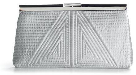 Townsend Lulu Quilted Frame Clutch