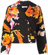 Lanvin floral print blazer - women - Polyester/Spandex/Elastane/Acetate/Wool - 36