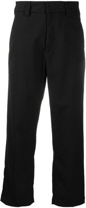 Carhartt Work In Progress Cropped Straight-Leg Trousers